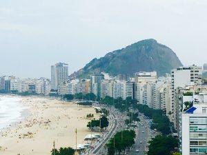 Hoje, eu vou chegar ao Rio de Janeiro!