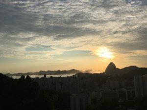 Amanhecer na Baia da Guanabara