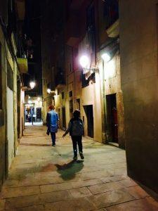 Andar a pé para conhecer Barcelona