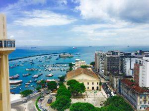 Onde se encerra Salvador lá na Bahia
