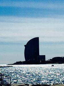 O Mediterrâneo aos pés de Barcelona